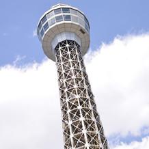 マリンタワーとても良く見えます!