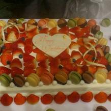 かわいいケーキ♡