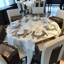 テーブルはこんな感じ。