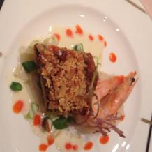 お魚料理もとても美味しかったです
