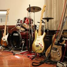 フルセットでバンドが演奏できました!