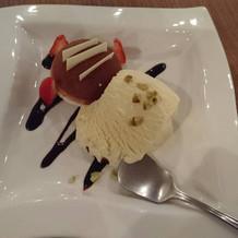 デザート 一皿1200円