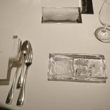 オシャレなテーブルセット