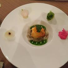 12000円コース 魚料理