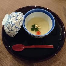 10000円コース 茶碗蒸し