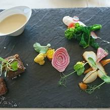 前菜・スープ・魚・肉