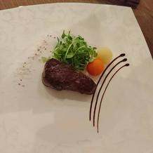 12000円コース 肉料理