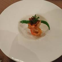 10000円コース 魚料理