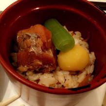 和食 炊き込みご飯