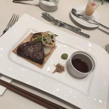 肉 とても美味しかった!