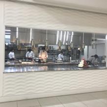 オープンキッチン!