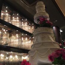 念願の大きなケーキ!!