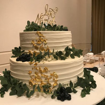 オーダーウェディングケーキ