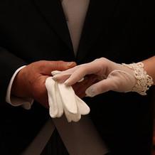 手袋は短いものを