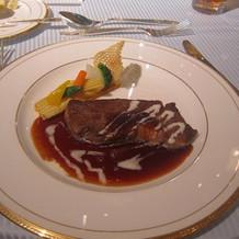 スタンダード料理の肉料理
