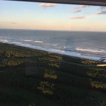 海が見渡せます