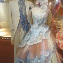 アリス風のドレス