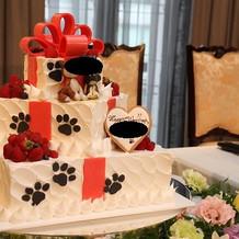 ケーキはイミテーション