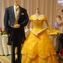 ベルの舞踏会風ドレス