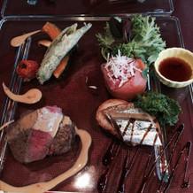 絶品のA5ランクの牛肉