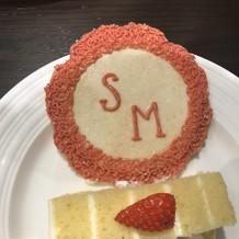 セレモニーで使ったケーキ!