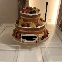 ケーキかわいくて、味もおいしかったです。