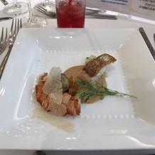 オマール海老とお魚
