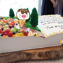 オリジナルウェディングケーキ!