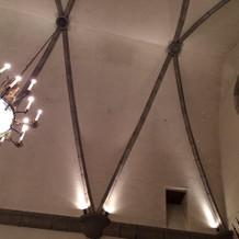 天井も高めです