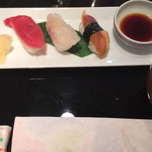 しめはお寿司