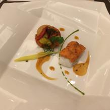 魚介の料理