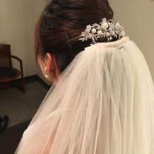 髪飾り(タカミブライダル)