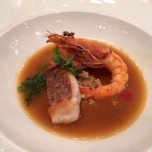 ズッパディペッシェ(魚料理)