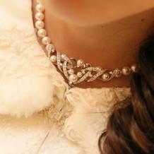 ミキモトのネックレスです