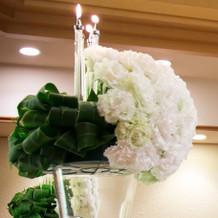 祭壇のお花