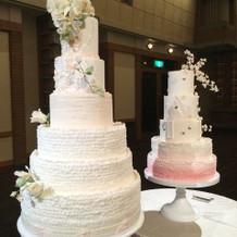 デザイナーのケーキ