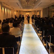 式場も高級感があった。