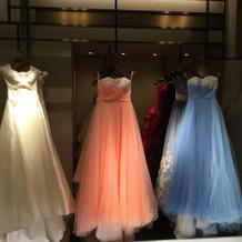 高島屋のカラードレス