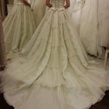 ジル・スチュワートのwドレス。