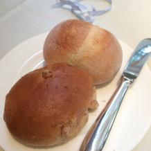 パンは種類は2つ選べます