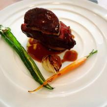 フィレ肉がとても柔らかく美味しかった
