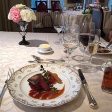 国産牛フィレ肉とフォワグラのソテー