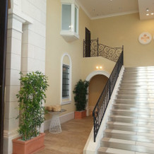 セレモニールームの階段