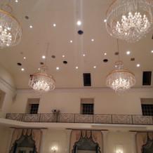 天井が高く解放感があります
