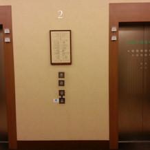 エレベーターもキレイで居心地が良いです