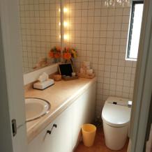 清潔なトイレでした