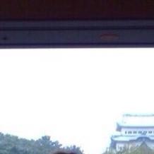 披露宴会場からみえた名古屋城