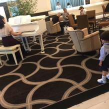 ピアノを弾いていて子供達が喜んでました