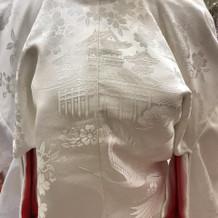 平安神宮での挙式しか着れない白無垢です