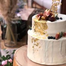 ケーキもオシャレで美味しかったです!